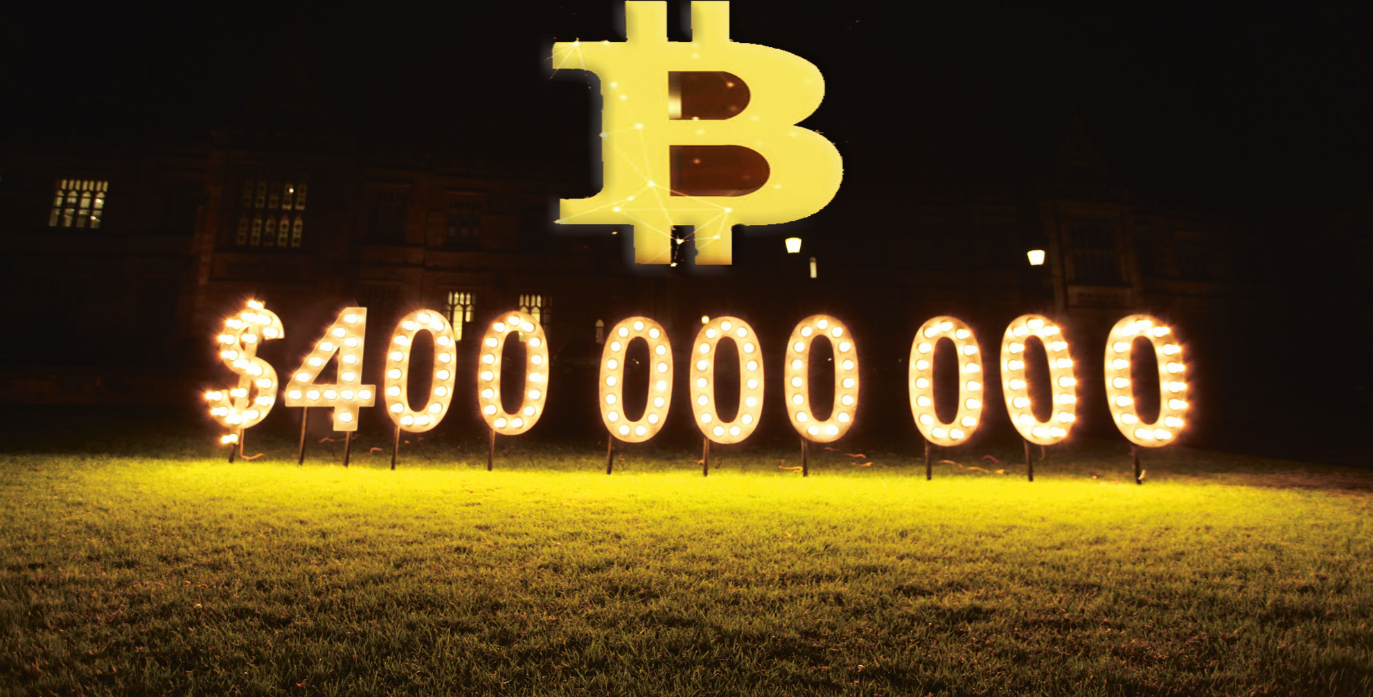 400 million in bitcoin traded