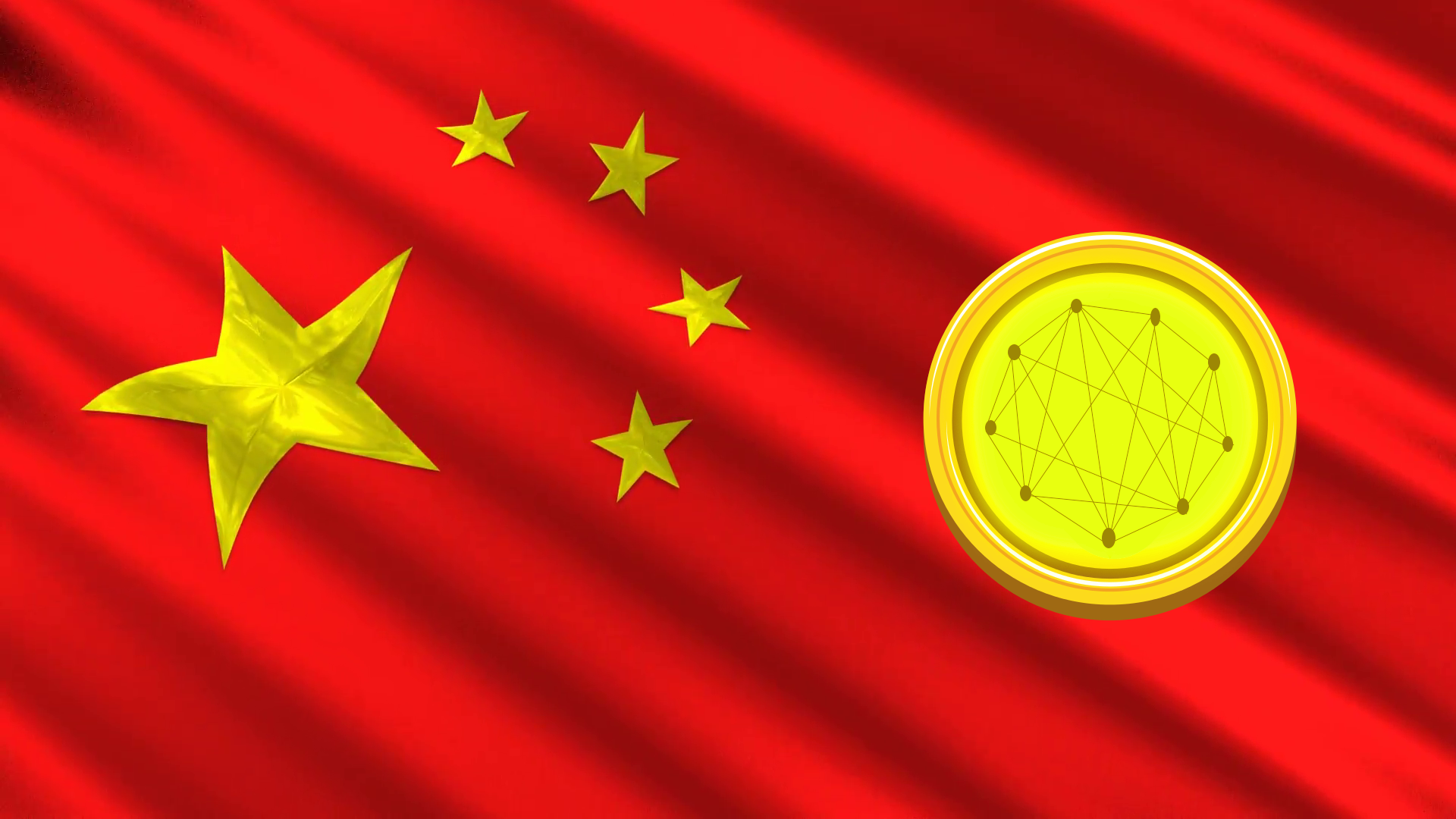 chinese flag animation 3d stars 4jf0ovgh  F0000