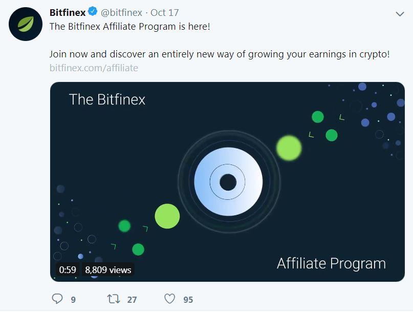 Bitfinex Affiliate