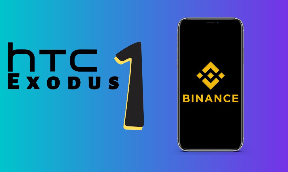 HTC Exodus 1 in association with Binance