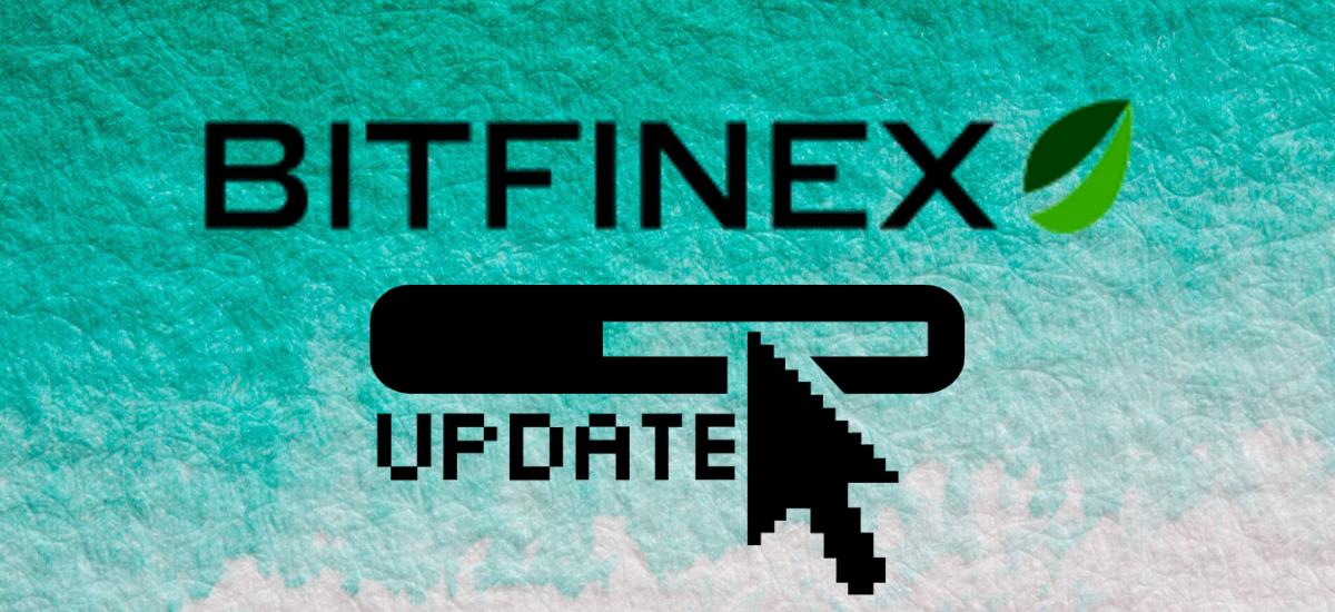 Bitfinex Up for a System Update.