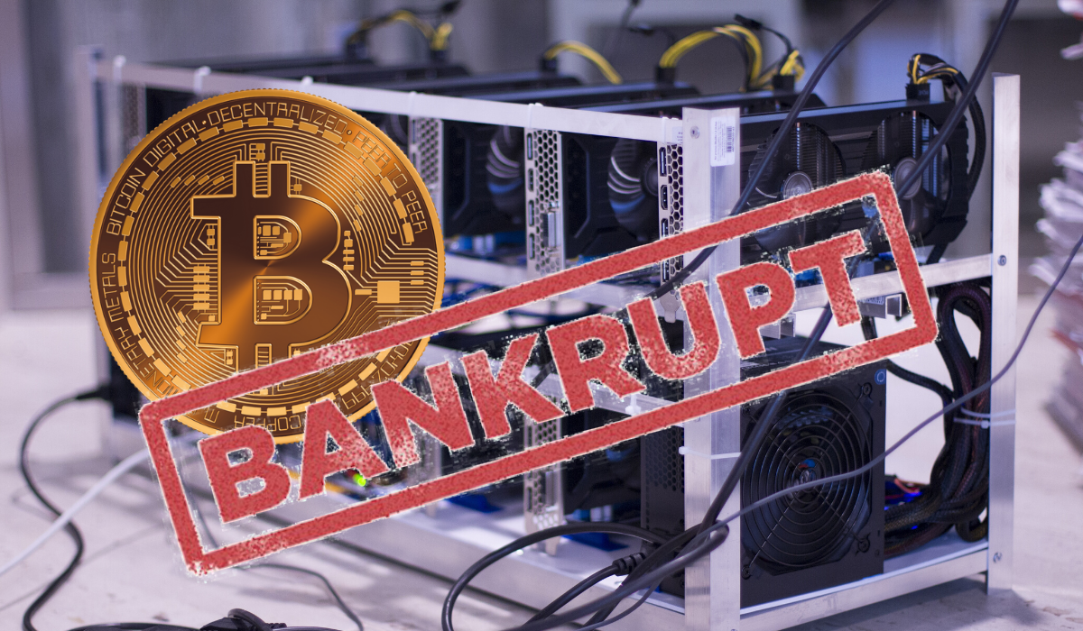 Yet Again the Waves of Bankruptcy Hits Another Bitcoin Miner