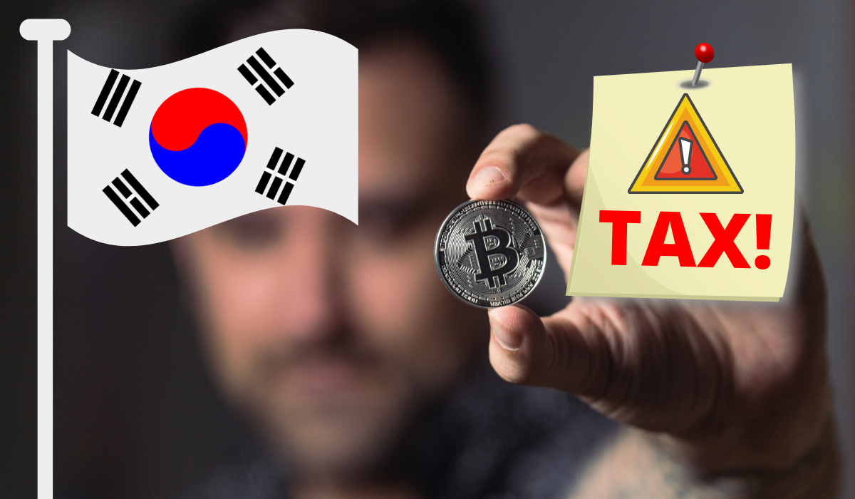 korea cryptocurrency tax