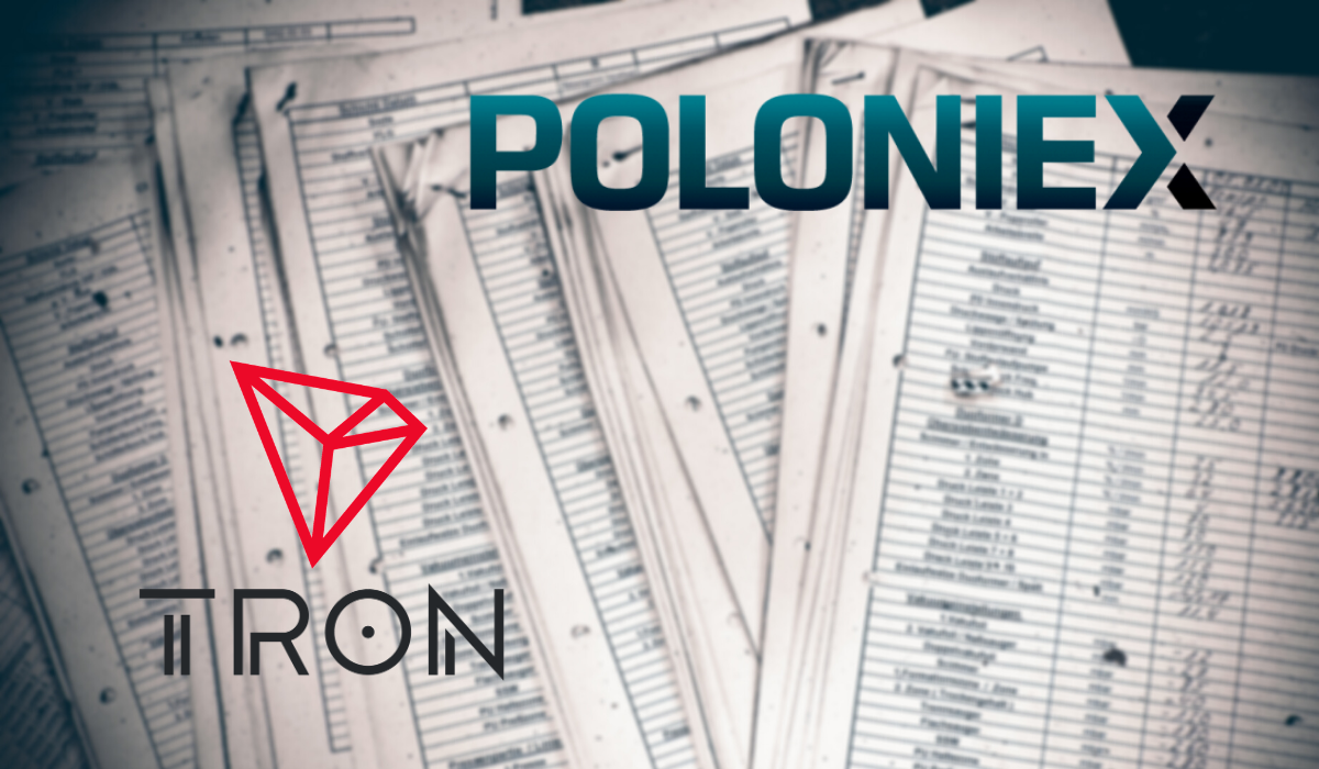 Poloniex is Listing All Tron Based Projects on its DEX for Free!