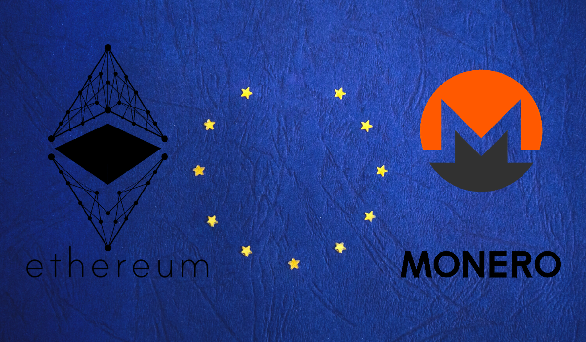 ETH and XMR - The Two Main Shares Of European Mining Pools