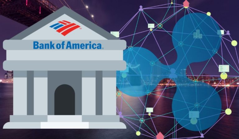 What are the speculation of Ripple' partnership with the Bank of America?