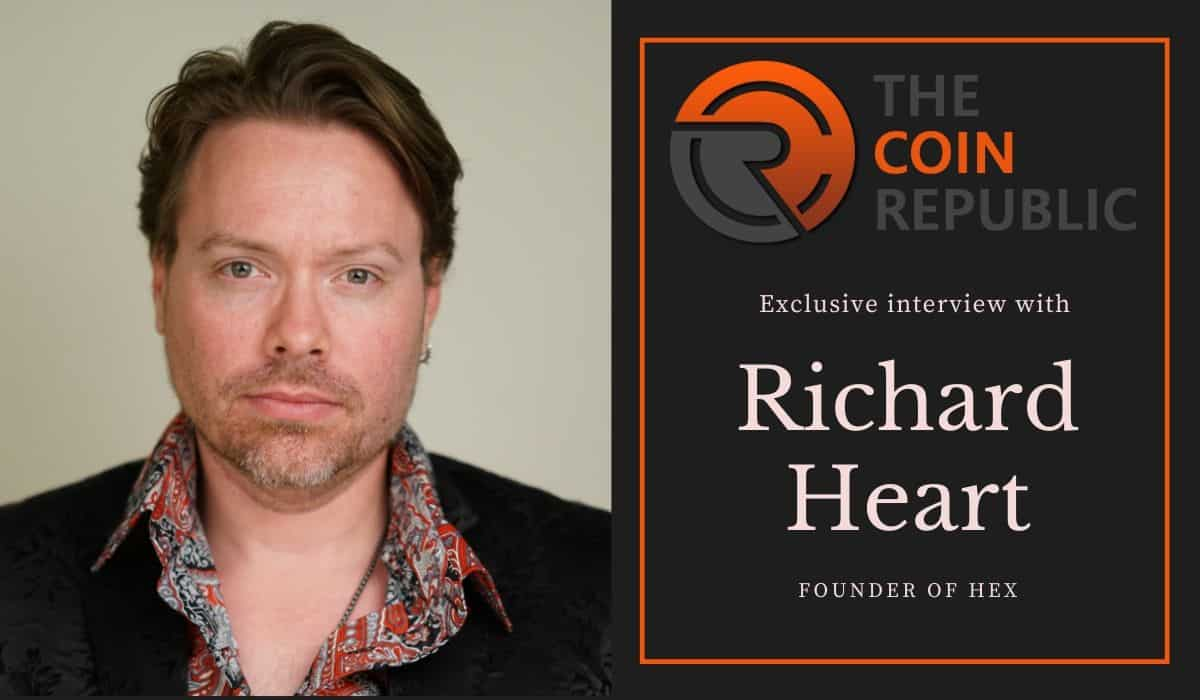 Exclusive Interview With Hex Founder Richard Heart